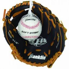 NEW Franklin Sports Teeball Performance Series Fielding Gloves with Ball Youth Baseball Gloves, Baseball Helmet, Softball Gloves, Baseball Pants, Football Helmets, Baseball Score Keeping, Baseball Scores, Sports Baseball, Marlins Baseball