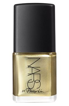 Sparkly gold nail polish | 3.1 Phillip Lim for NARS