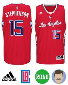 e484dfc9313 Men s Lance Stephenson  1 red New Swingman Road Jersey