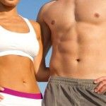 How do you get a flat belly and six pack abs? Doing extra crunches and sit-ups is not the answer to losing belly fat. The secret is a combination of fat burning cardio, resistance training and clean eating. Flat Abs, Flat Tummy, Flat Stomach, Flat Belly, Lose Belly, Toned Stomach, Easy Weight Loss, Healthy Weight Loss, Lose Weight