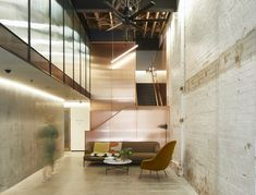 Exposed Ceilings, Exposed Brick Walls, Corporate Interiors, Office Interiors, Timber Ceiling, Arch Interior, Interior Design, Timber Structure