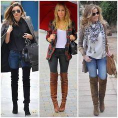 looks over the knee camisa jeans - Pesquisa Google