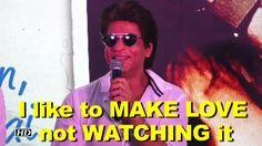 Shah Rukh- I like to MAKE LOVE not WATCHING it , http://bostondesiconnection.com/video/shah_rukh-_i_like_to_make_love_not_watching_it/,  #AnushkaSharma #hawayeinsong #ImtiazAli #jabharrymetsejal #kingofromanceshahrukh #piyamoresong #Radhasong #SalmanKhan #Shahrukhsayshelovesmakinglovenotwatchingit #ViratKohli #viratlovesanuhska #virat'sloveforanushka