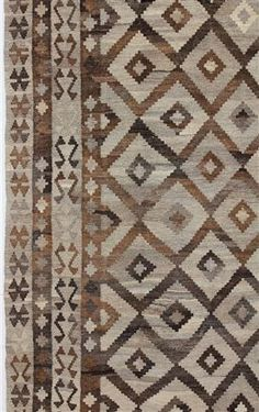 No word on this. Just looks like a good tone-on-tone update of some trad regional piece. Textures Patterns, Print Patterns, British Colonial Style, Neutral, American Indian Art, Southwestern Style, Kilim Rugs, Decoration, Rugs On Carpet