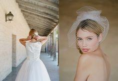Short net veil