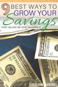 Best Ways to Grow Your Savings