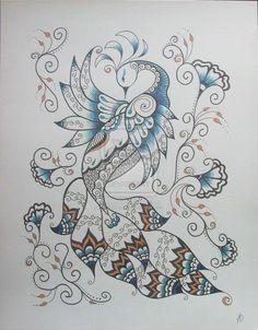 Henna_Peacock_2_by_MSBoyd.jpg (900×1152)