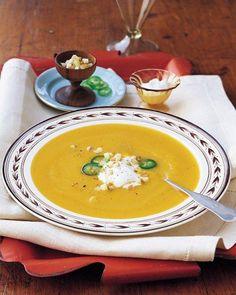 Apple-Butternut Squash Soup Recipe