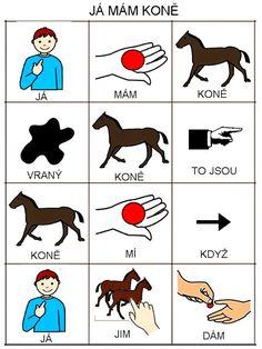 Pro Šíšu: Já mám koně School Humor, Teaching English, Funny Kids, Kindergarten, Preschool, Language, Education, Comics, Learning
