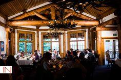 Keystone wedding at Alpenglow Stube: Christine & Mark Keystone Resort, Elegant Dining, Wedding Coordinator, Bay Window, North America, Mountain, Floral, Summer, Elegant Dinner Party