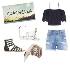 """at coachella festival"" by elena1d99 ❤ liked on Polyvore featuring interior, interiors, interior design, home, home decor, interior decorating, R13, Ganni and MICHAEL Michael Kors"