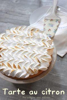 Vraie recette tarte citron meringuée | Cuisinez avec Djouza Vegan Desserts, Delicious Desserts, Yummy Food, Fun Cooking, Cooking Time, Mini Tortillas, Vegan Challenge, Pie Tops, Cake & Co