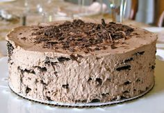 This mocha refrigerator cake is absolute divine and a must-try for your next dinner party. Pie Cake, No Bake Cake, Sweet Desserts, Sweet Recipes, Baking Recipes, Cake Recipes, Refrigerator Cake, Mocha Cake, Mocha Chocolate
