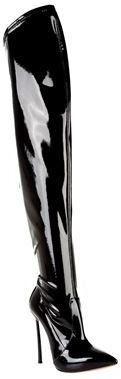 """Pin for Later: Ein Paar dieser Schuhe bringt euch stylisch durch den ganzen Winter  Casadei """"Blade"""" Over The Knee Stiefel (1.142 €)"""