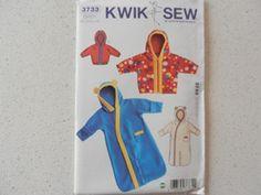 Kwiksew 3733 Baby Sleeping Bag with Hood Jacket