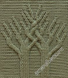"""""""Baum des Lebens"""" / """"Tree of Life"""", Cable Knitting Patterns, Knitting Stiches, Knitting Blogs, Knitting Charts, Lace Knitting, Knitting Needles, Knit Patterns, Stitch Patterns, Knitted Afghans"""