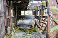 barn find , Tamiya MO chassis with a Mini Ute body 1 10 Scale, Barn Finds, Tamiya, Rc Cars, Mini