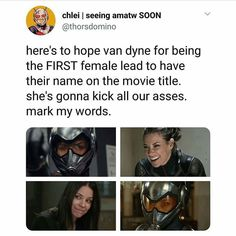 Im such a fuck up and will gladly die at this moment. Spider Man Homecoming 2, Antman And The Wasp, Scott Lang, Evangeline Lilly, Paul Rudd, Bruce Banner, I Quit, Clint Barton, Movie Titles