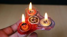 How to make DIY Fidget Spinner - Don`t tells me you haven`t heard of fidget spinner over the last year. If this is so, then you must be living somewhere remote or under a rock where t. Diy Fidget Spinner, Fire Candle, How To Make Fire, Fidget Toys, Handmade Candles, Diy And Crafts, Remote, Rock, Skirt