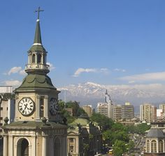 Old Church in Santiago