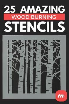Wood Burning Stencils, Wood Burning Crafts, Wood Burning Patterns, Wood Crafts, Deer Stencil, Cool Stencils, Letter Stencils, Celtic Symbols, Porch Signs