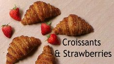 Polymer Clay Croissant & Strawberry Tutorial