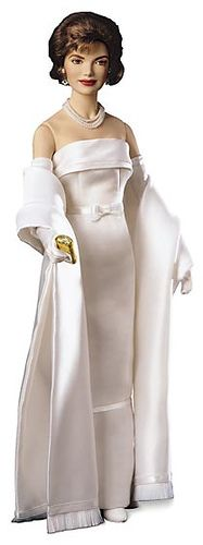 Jackie in a white satin gown Doll: Photo by By golondrina411 on Flickr