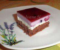 Borůvkové tvarohové řezy Sweet And Salty, Dessert Recipes, Desserts, Tiramisu, Food And Drink, Baking, Cake, Ethnic Recipes, Tailgate Desserts