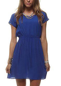 blue dress #rue21
