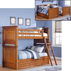 Canyon Creek   Twin over Twin   Bunk Bed with Trundle costco