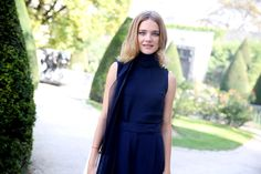 Natalia Vodianova   #ParisFashionWeek, #streetstyle