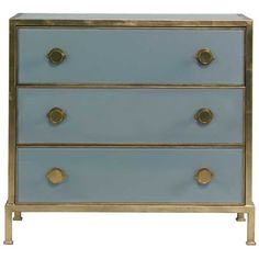Lillian August Essex Chest ($2,488) ❤ liked on Polyvore featuring home, furniture, storage & shelves, dressers, lillian august, lillian august furniture, hardware furniture, painted dresser and painted furniture