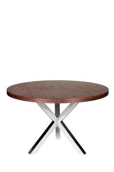 Remi Round Dining Table - Walnut on HauteLook