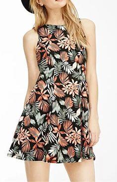 B Floral Print Mini Dress $16.99