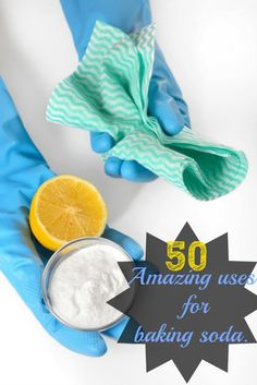 50 Amazing Uses For Baking Soda {note: baking soda does not kills some germs, such as salmonella}