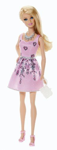 Fashionista Barbie Doll, Light Pink Dress on http://Thamica.com/fashionista-barbie-doll-light-pink-dress/