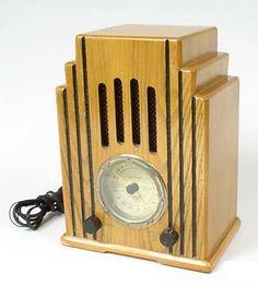 Art deco radio from David in Toronto.