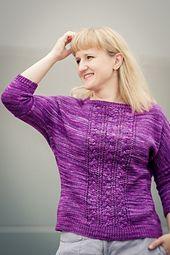 Ravelry: Three Braids pattern by Justyna Lorkowska #knitspirationpdx