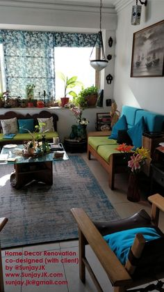 Home interior Design Traditional Chairs - - - Victorian Home interior Renovation India Home Decor, Rooms Home Decor, Home Decor Furniture, Painted Furniture, Traditional Living Room Furniture, Indian Living Rooms, Living Room Colors, Living Room Designs, Indian Bedroom Decor