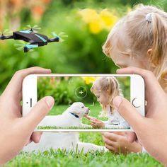 RC Car Drones with hd Camera RC Helicopter Foldable Mini Drone FPV Quadcopter Aircraft Selfie Drone Foldable Drone - Lumi-Online Drone With Hd Camera, Box Camera, Fpv Drone, Drones, Foldable Drone, Remote Control Boat, Tech Toys, Rc Helicopter, Wifi