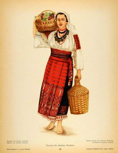 Ialomita, Muntenia (Wallachia) Folk Embroidery, Learn Embroidery, Floral Embroidery, Embroidery Designs, Folk Costume, Costumes, Medieval Clothing, Embroidery Techniques, Traditional Dresses