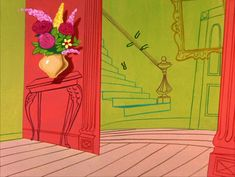 Animation Backgrounds 2: Broomstick Bunny