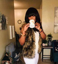 """Copy of """"Je suis Aklaaa et fier de qui je suis"""" Fur Coat, Fashion, Moda, Fashion Styles, Fashion Illustrations, Fur Coats, Fur Collar Coat"""