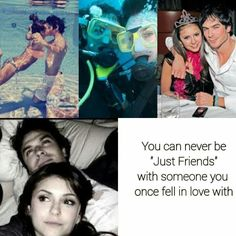 #TVD The Vampire Diaries Nina & Ian, it is possible but true..