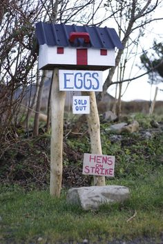 Sorry, no eggs for sale here atm. ~ haha! Like this! ~