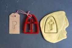 Mijter koekjes vorm #Sinterklaas