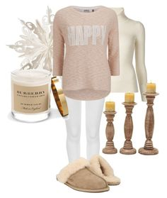 """""""Sun 'daze'"""" by louise-224 on Polyvore featuring Emanuel Ungaro, Dot & Bo, M&S Collection, ONLY, UGG Australia, Burberry, women's clothing, women's fashion, women and female"""