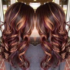 Best ideas about brown hair caramel highlights (22)