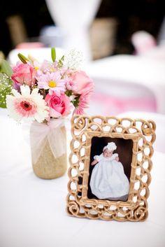 cross baptism flower centerpieces - Google Search