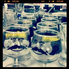 Found ten more sombrero glasses! Ha, I just love that mustache. (Taken with Instagram)